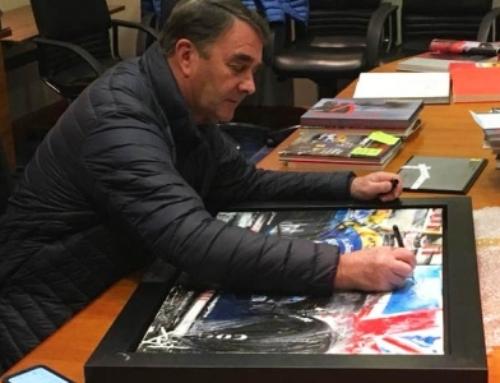 Nigel Mansell's Bespoke Artwork
