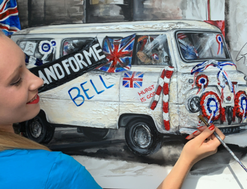 """""""This is the Self Preservation Society"""" – Exclusive Italian Job Artwork"""